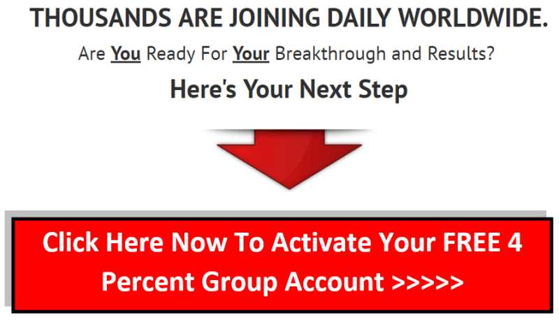 Join The Four Percent Group