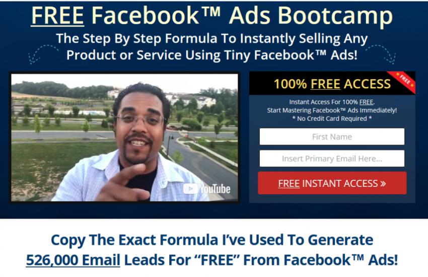 Free Facebook Ads Bootcamp – Anik Singal