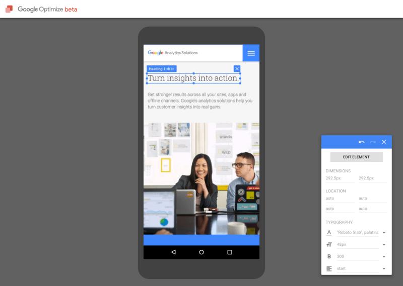google-optimize-free-version