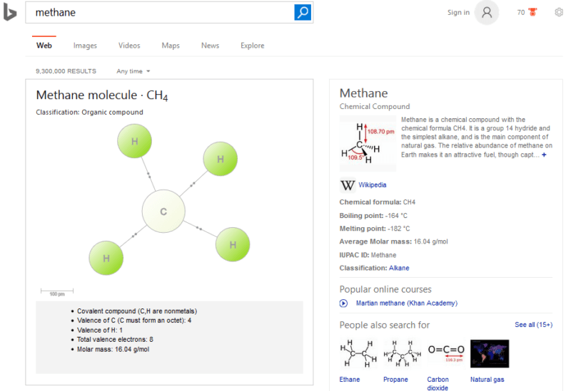 methane-bing-search-results