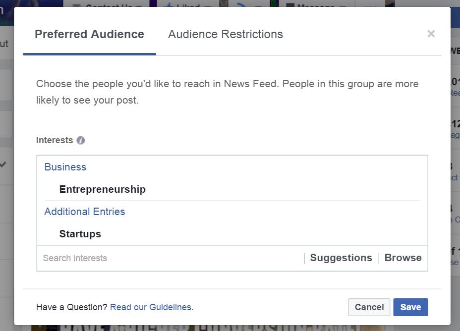 Thought leadership marketing Facebook News Feed algorithm