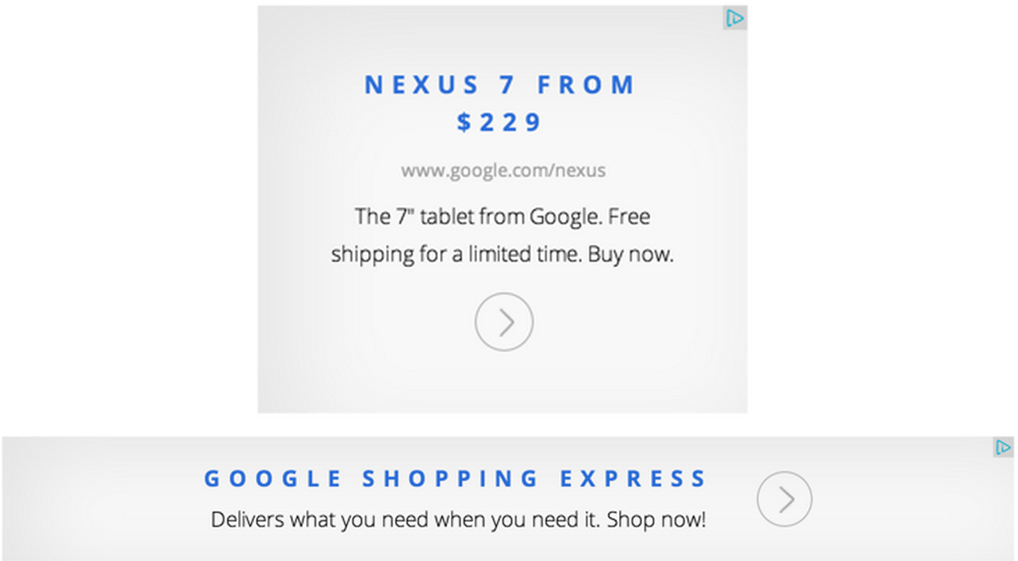 AdSense Magazine Ads - Text ads shown as display format
