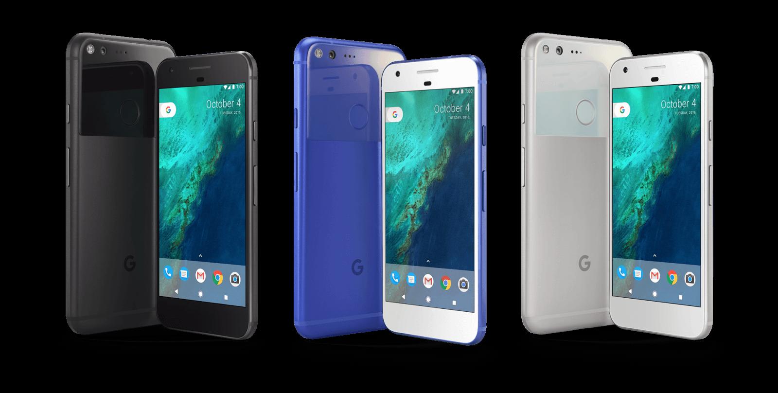 Google Pixel family