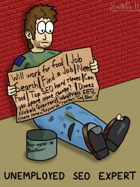Unemployed SEO Expert - Trigger and Freewheel