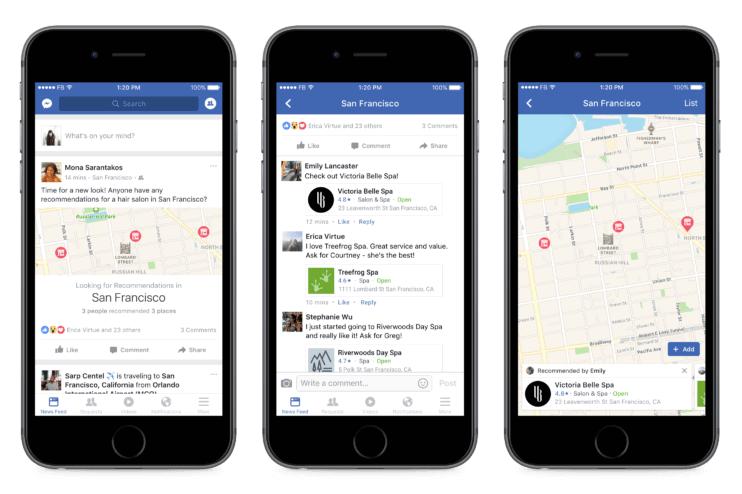 Social discovery Facebook