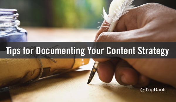 tips-documenting-content-strategy