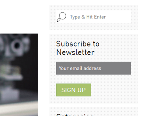 The call to subscribe is the most common call to action on a blog.