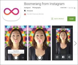 Boomerang for Instagram
