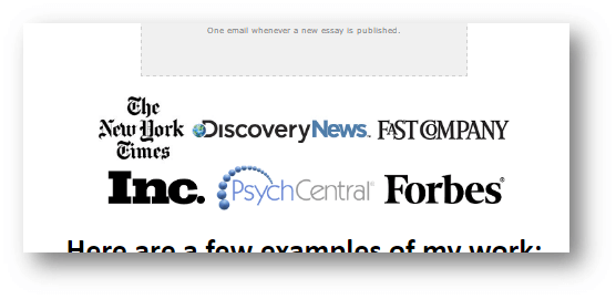 Borrow trust from known brands.